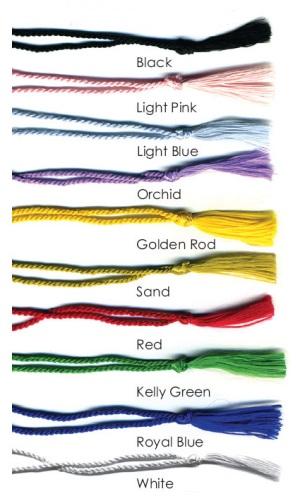 Optional Tassel Colors