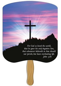John 3:16 Church Fan