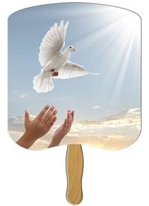 Peace Dove HD Church Fan